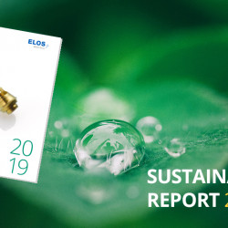 Substantial water consumption reduction and other Elos Medtech sustainability goals and achievements for 2019